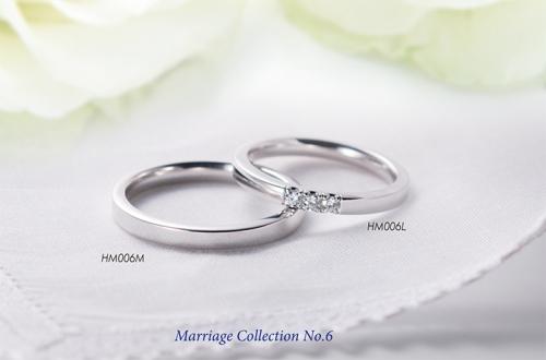 新作結婚指輪コレクションNo.6